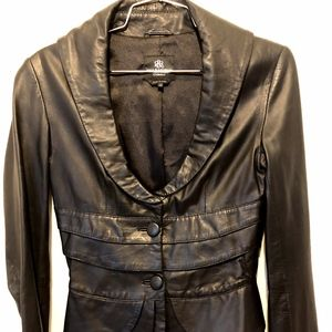 Rock & Republic Leather Jacket Size XS